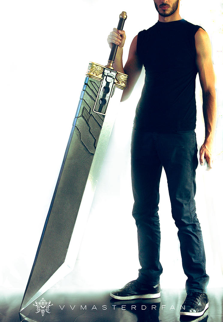 Crisis Core Buster Sword - Mark III by vvmasterdrfan