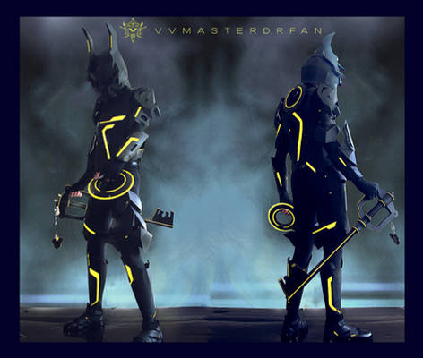 KH:3D Tron x Armored Ventus Nightmare
