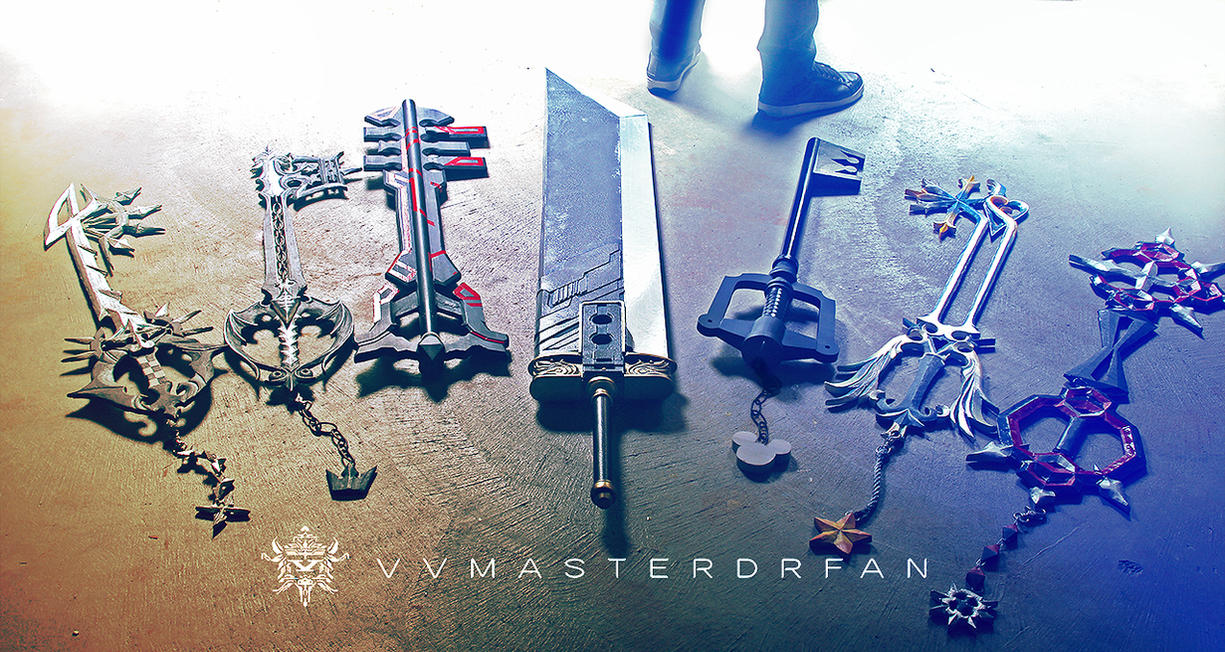 The Keyblade Maker by vvmasterdrfan