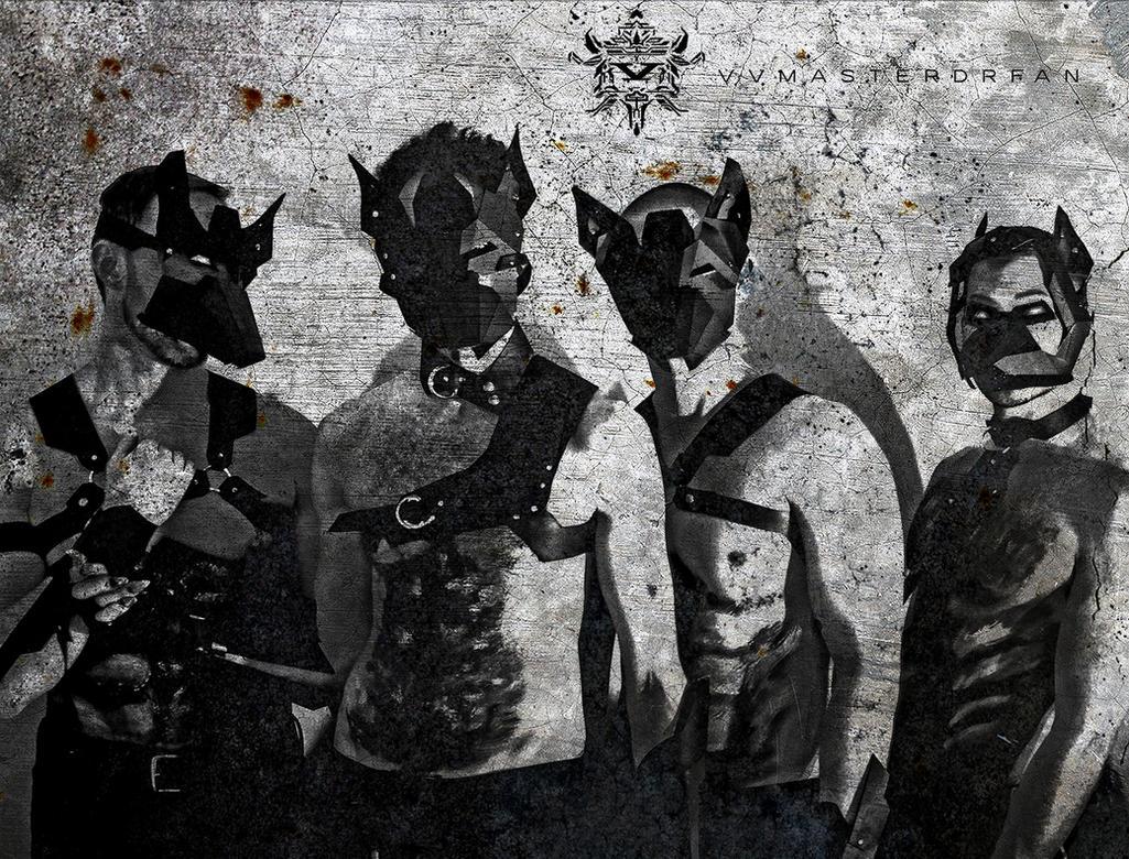 Cyber Wolfpack by vvmasterdrfan