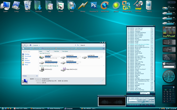 :New Screen: Desktop 2-21-08 by RaiderXXX