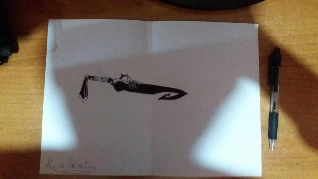 Inktober #6: Sword by Luca-pirate