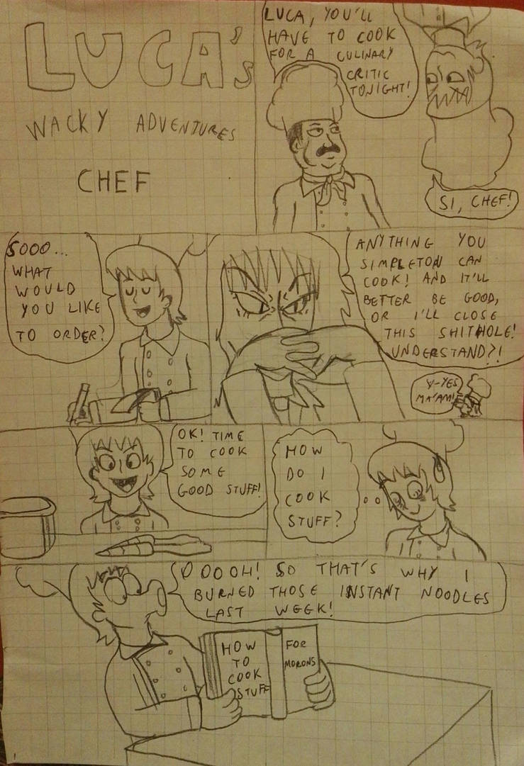 CHEF (part1) by Luca-pirate