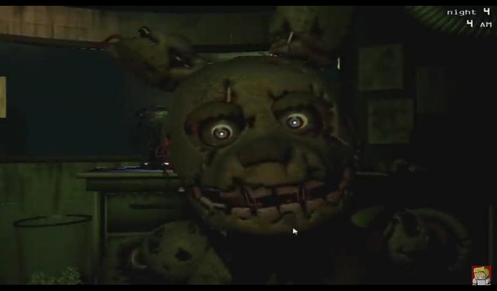 Fnaf 3 jumpscare springtrap 2 by woyfan123456 on deviantart