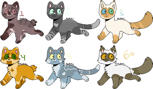 Warriors/Cat Adopts [OPEN 3/6] [Varying Prices]