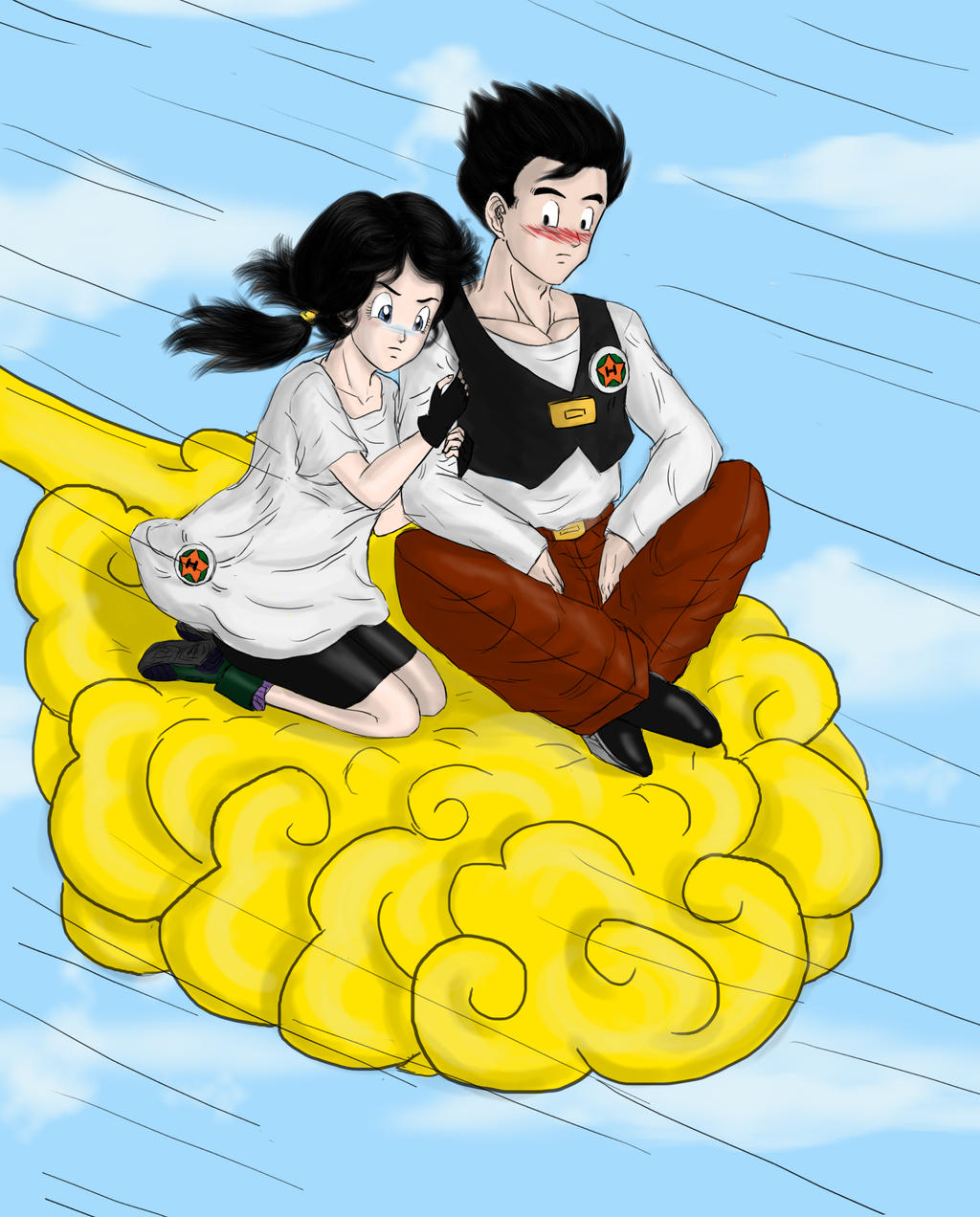 Riding on a Cloud is My First Love by MissKisa