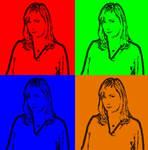 Jennifer Whalen In Pop Art