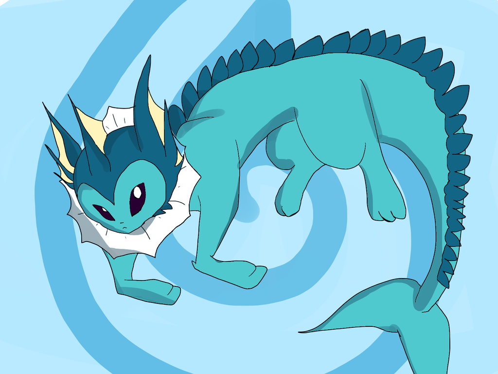 Vaporeon! by Onlinesafety222