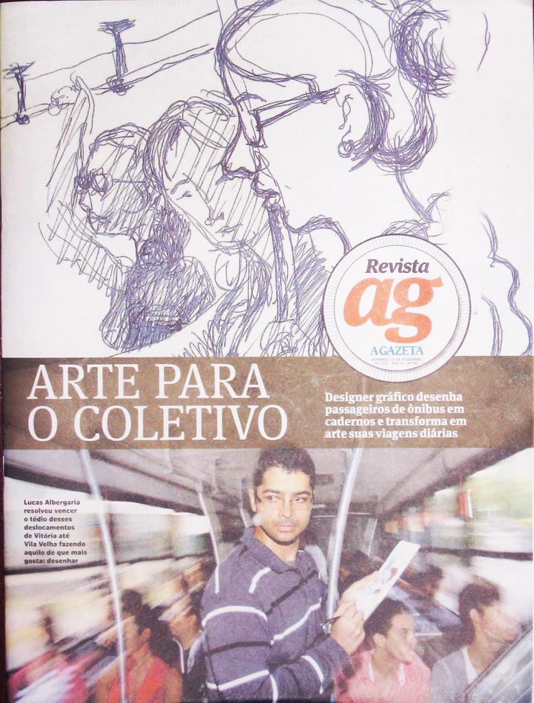 Cover Revista AG nov 20 2011 - Lucas Albergaria by lucas-albergaria
