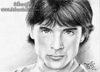 Tom Welling - Clark Kent by deboratsuki