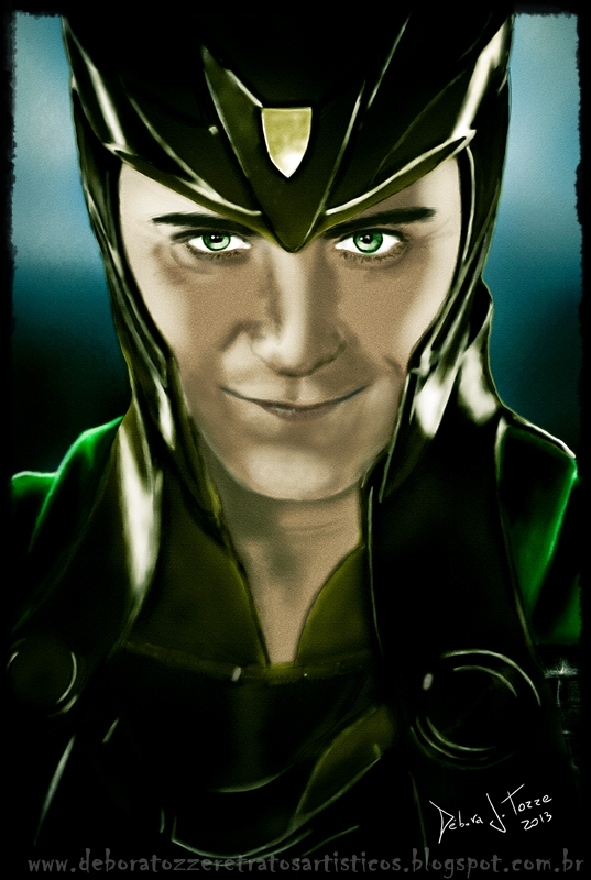 Loki (Tom Hiddleston) Thor Movie by deboratsuki
