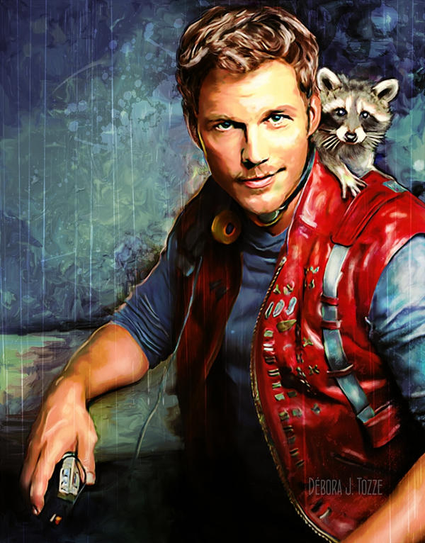 Star-Lord - Peter Quill - Guardians of the Galaxy by deboratsuki
