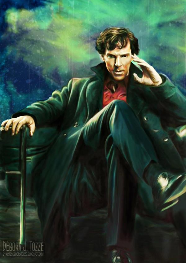 Sherlock Holmes  BBC by deboratsuki
