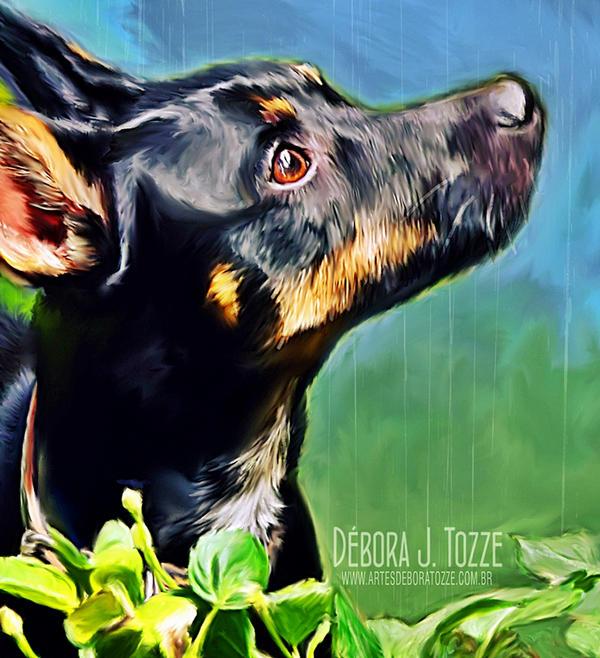 Iki Dog by deboratsuki