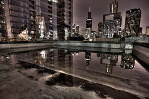 Rooftop Reflections
