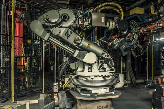 Robot Arm Frontlit