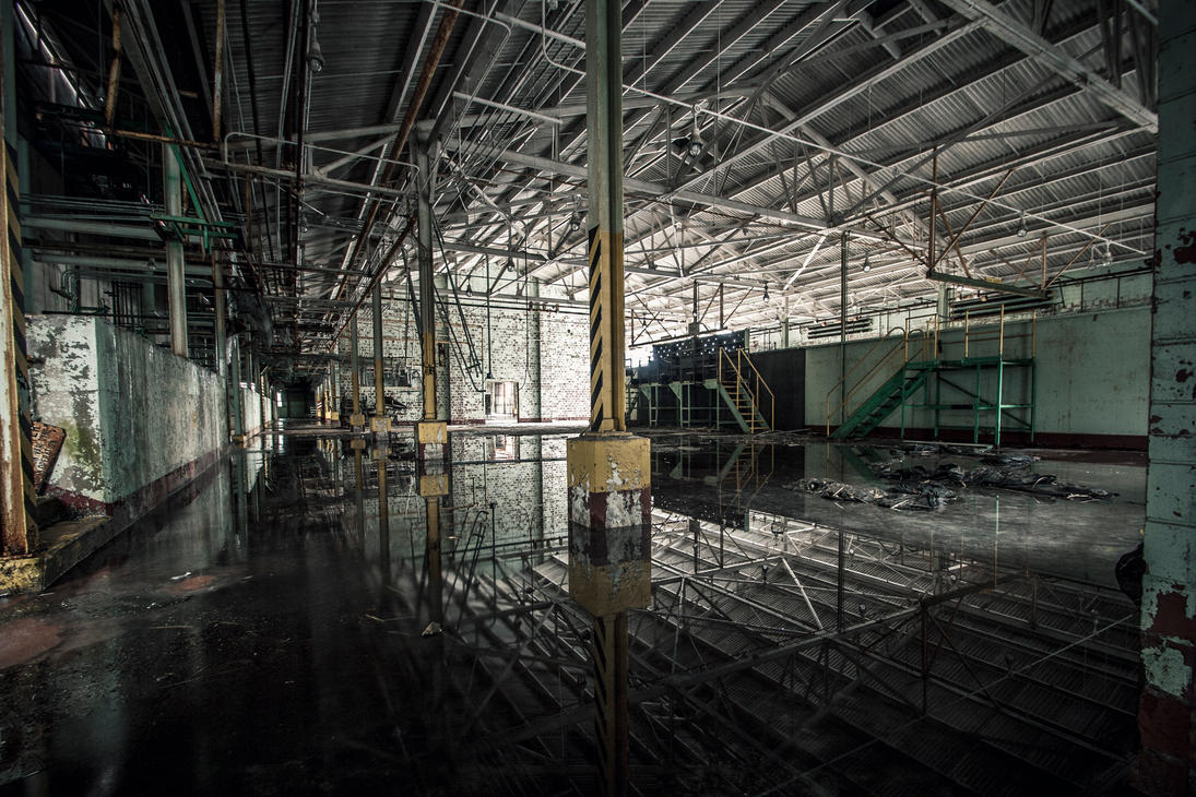 Industrial Reflection by 5isalive