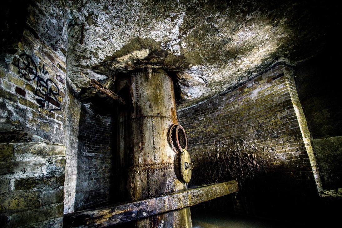 Abandoned Underground by 5isalive