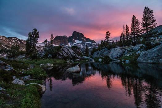 Banner Peak Sunset