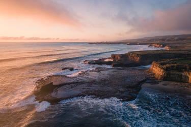 Coastal Sunset in Santa Cruz, California