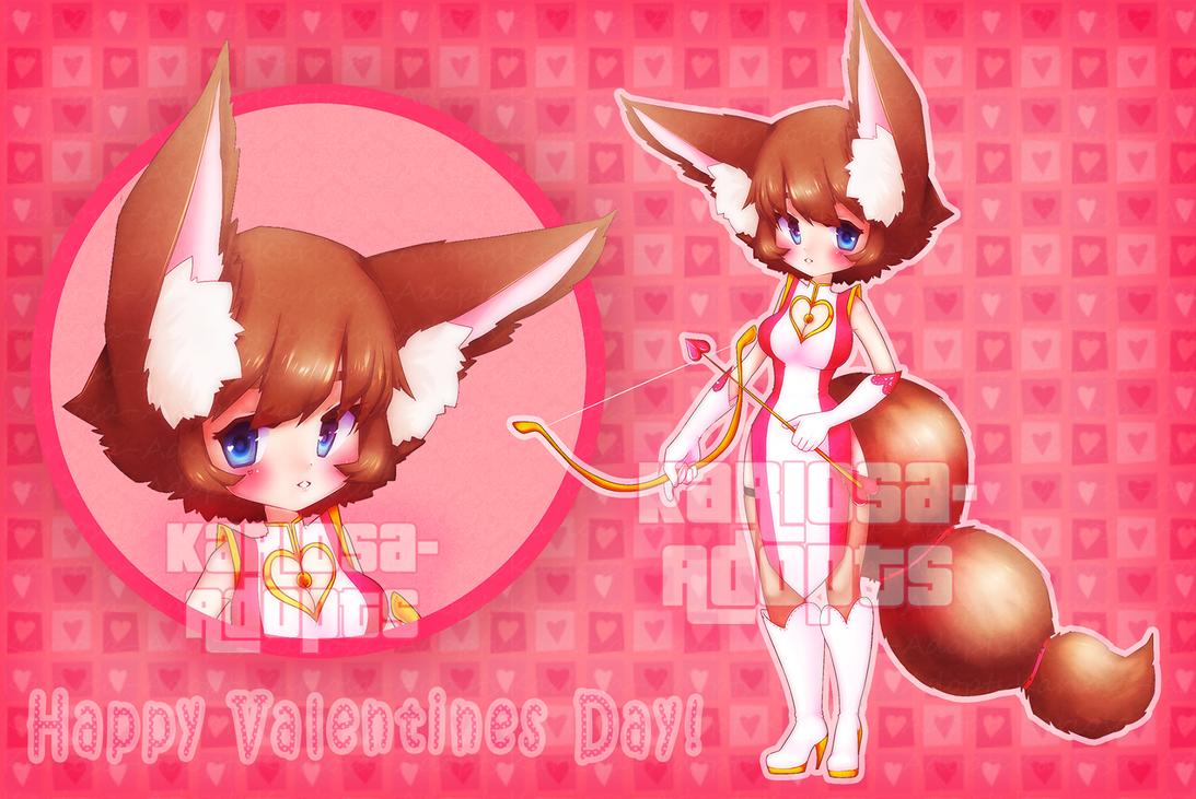 Valentines Adopt  (CLOSED) by Kariosa-Adopts