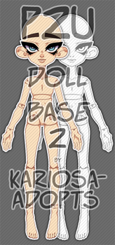 P2U Doll Base Version 2