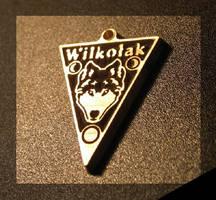 Wilkolak - wisiorek