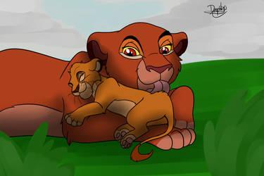 Chana and Faraja by nicodiangelo555