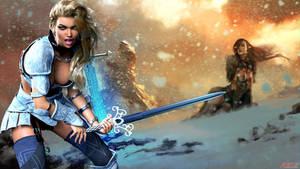 Warrior Girl gen 3 RedSpec by REDANTArts