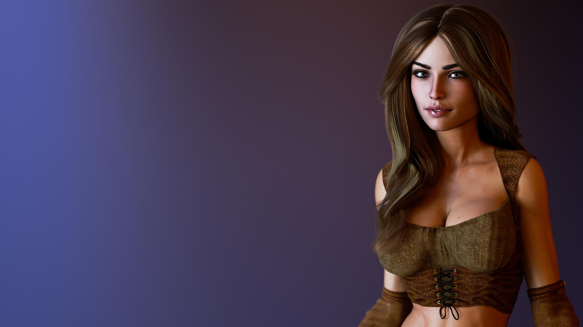 Yulia Yaroslava 4K P4 detailed by REDANTArts