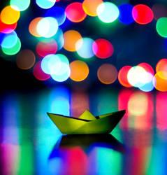 Sail the starry seas