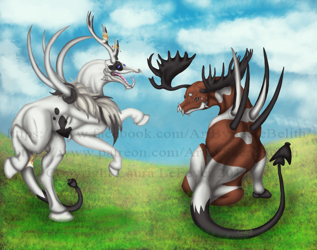 Shaman and Mystic by Seere-Belith on DeviantArt