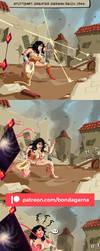 Almighty Abduction #1 - Wonder Woman by Bondagarna