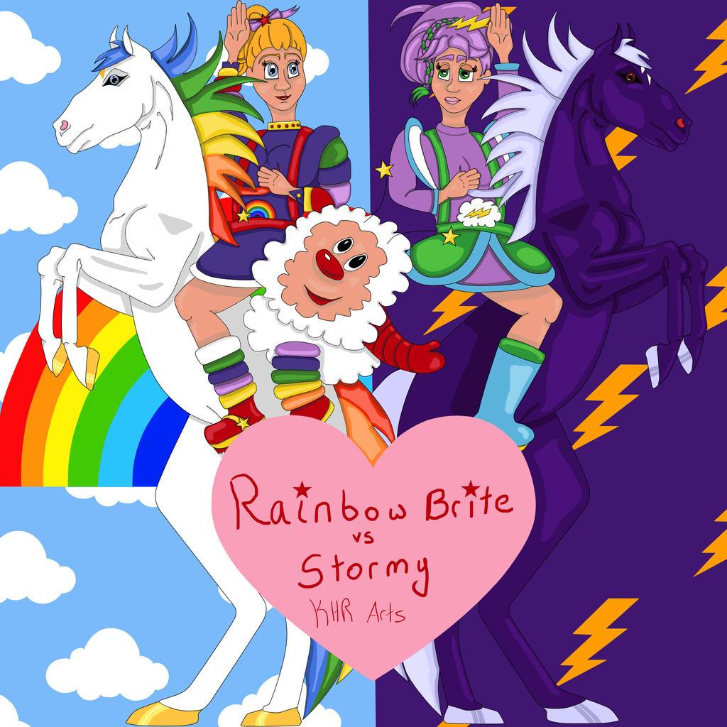rainbow brite vs stormy by katerinehowardrose on deviantart deviantart