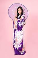 Kimono Kitsuke (purple) - 1 by rin-no-michiei