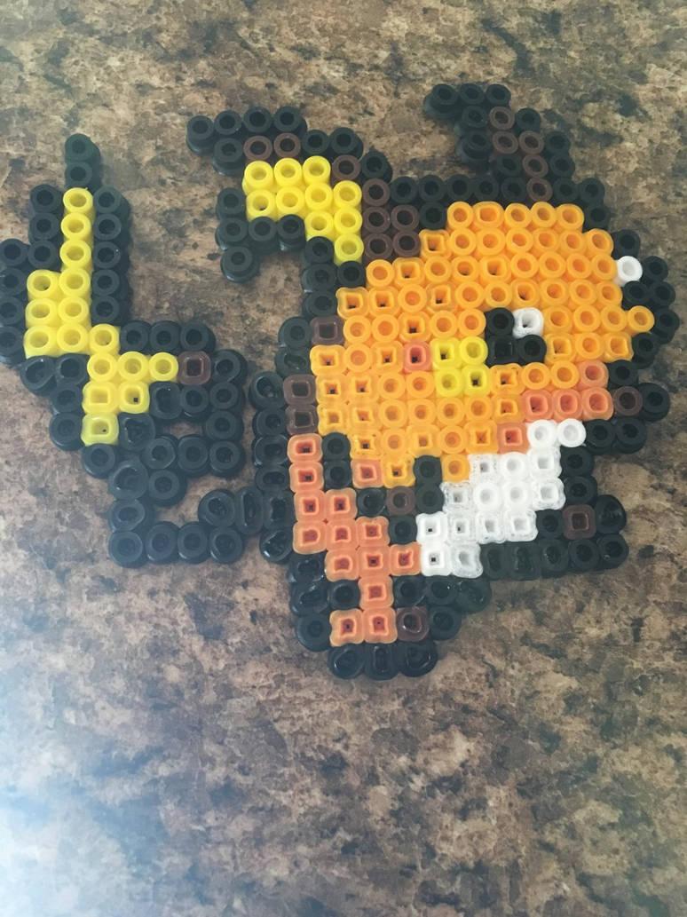 Raichu Pokemon Pixel Art By Lrs1226 On Deviantart