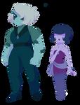 Musgravite and Ocean Jasper