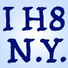 I H8 N.Y. by chemoelectric