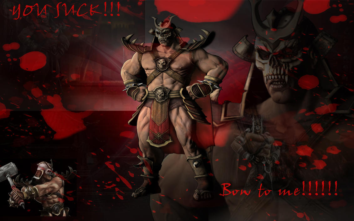 Shao Kahn wallpaper by nightmare-v-scorpion on DeviantArt