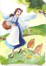 Princess colouring book I by TaijaVigilia