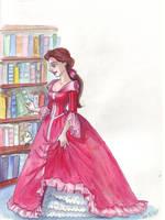 In the library by TaijaVigilia