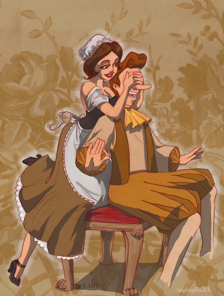 Babette And Lumiere By TaijaVigilia