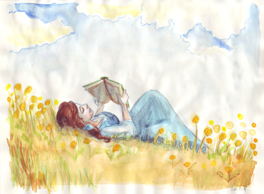 [FanArts] La Belle et la Bête ! Summer_days____by_taijavigilia-d3i6ks1