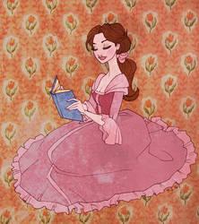 Rose and book by TaijaVigilia