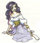 Esmeralda sketch
