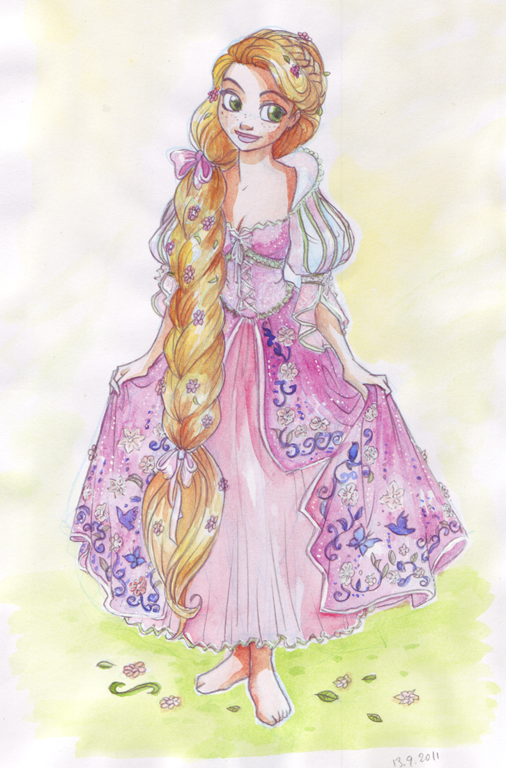 Luxury Rapunzel by TaijaVigilia