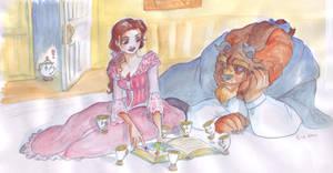 Teacups like stories too.