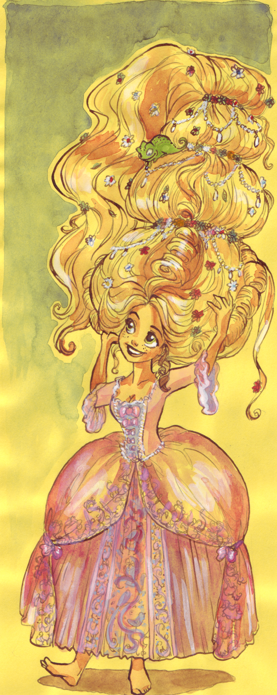 Rococo Rapunzel by TaijaVigilia