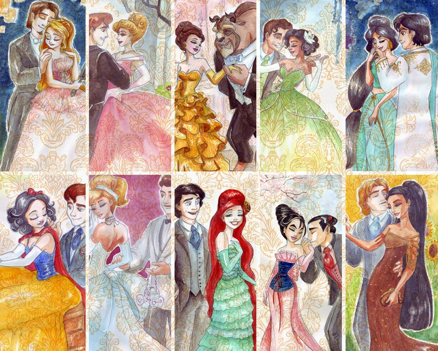 Designer princesses by TaijaVigilia