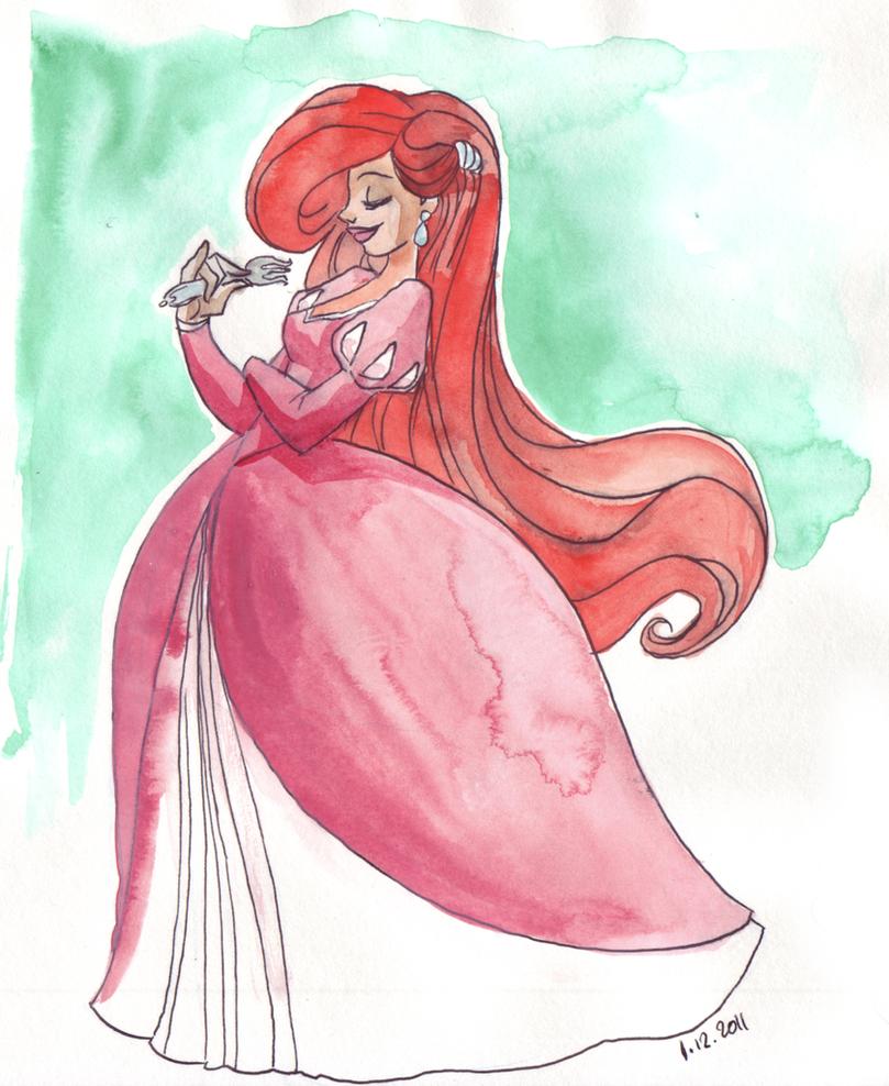 Elegant Ariel by TaijaVigilia